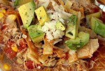 Dinner recipes / Chicken tortilla soup