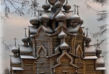 Place to visit / Houten kerk in Rusland