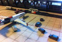 Aeropuertos a escala 1:500 / Aeropuertos a escala 1:500 de http://maqualas.com model airport