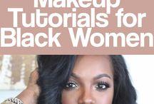 Black makeup women
