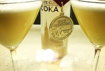 """""""Cocktails"""" / Gold winning cocktails. Cheers"""
