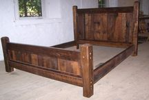 Wooden Bed frames / by Jessica Chappell