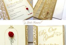 Beauty and the Beast Wedding / With the newest release of Beauty and the Beast here are some ideas to have the perfect fairy tale wedding.