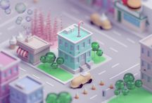 Animated beauty