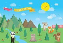 Mundos Rigoló / Rigoló es un sueño materializado en una tienda especializada en juguetes y muñecos de peluche. Un lugar para la imaginación. ¡Te invitamos a conocer los mundos Rigoló! Transpórtate a la selva, granja, bosque, mundo acuático y mundo mágico.