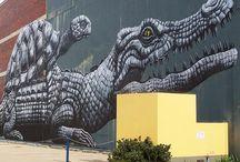 Graffitopedia / First pin crocodile and turtle
