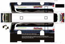 JetBus papper craft