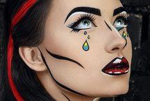 malovanie na tvár