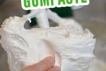Gum paste