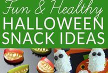 Halloween snack ideas