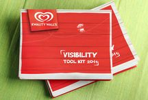Visibility Tool Kit / This manual is a reference guide for Kwality Wall's visibility template. It is designed in a way that one can easily understand and execute visibility elements across channels. The manual helps Kwality Wall's to grab the attention of the shopper at every stage of the purchase cycle – awareness, consideration, intent and purchase.