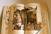 Altered Books, Book Arts & More. / by Jackie Pena