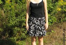 Skirts / Sukně všech možných střihů a vzorů.