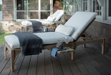Staycation Style / Enjoy a rejuvenating spa getaway from the comfort of your own backyard. Transform your outdoor spaces with luxe Summer Classics furnishings. #StaycationStyle  / by Summer Classics