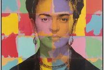 Frida Kahlo / Peintre