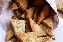 Sajtos-mákos keksz