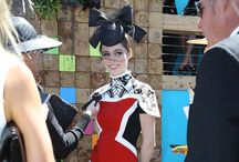 Melbourne Cup Inspiration / Dazzle the crowd with fabulous hair at the Melbourne Cup!