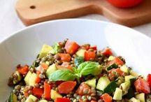 recettes salades légumes