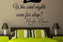 Z twarzą Marylin Monroe / Wspaniała gwiazda jako inspiracja do wystroju Twojego wnętrza :).