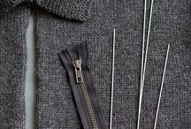 Glidelås i strikk