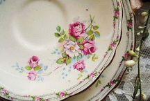 Vintage tányérok