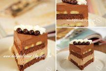 Chocolatte Mouse Banana Cake  / Chocolatte Mouse Banana Cake ♡