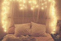 lyskæde soveværelse / Indretning