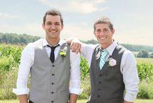 My main man, the groom