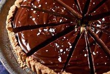 choklad dessert