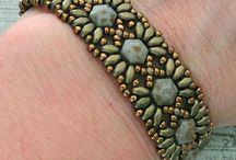 Honeycomb bead designs