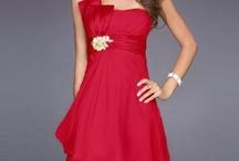 Wedding Bridesmaid Dresses Red