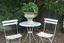 Garden Furniture / Make your own or buy new, the choice is yours :)