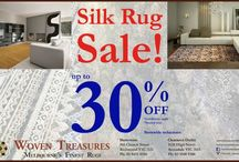 Silk Rug Sale 30 % Off On Melbourne / Woven treasures rugs offers huge sale on Silk rugs and carpets upto 30 % off.