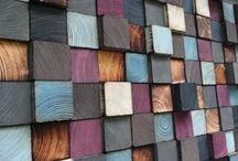 Mozaiki drewno