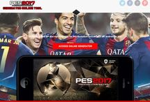 Pro Evolution Soccer 2017 Hack -PES 2017 Generator / Pro Evolution Soccer 2017 Hack Generator is an online Tool that will help you to generate GP and Coins on your iOS or Android device!
