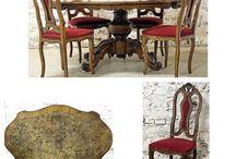 Столы / Кофейные, диванные, консольные, телефонные, туалетные столики. А также письменные, обеденные столы и комплекты (столы и стулья). Выбор довольно велик от резных до простых столиков, различной формы и цвета - каждый найдет для себя что-нибудь подходящее. http://www.bufettaburet.ru/market/stoly/
