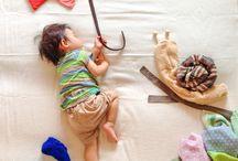Fotos Criativas de Bebê
