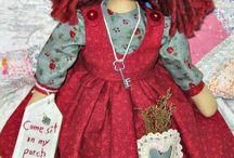 Dolls / Bonecas de pano dos mais variados estilos