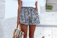 Outfits de verano / Como vestir para dias un poco soleados