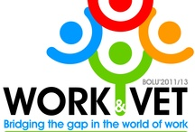 Work&VET: Bridging the gap in the world of work / Work&VET: Bridging the gap in the world of work  The LdV ToI Project (2011-1-TR1-LEO05-28020) W o r k & V E T : B r i d g i n g T h e G a p i n t h e W o r ld o f W o r k aims to bring the world of education closer to the labor market. The photos and videos are created to give our teachers ideas how they can use technology and social media in their education to bring the students closer to real life in which they will have a career one day