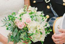 Romantic Military Wedding by La Petite Fleur