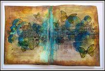 Keren's Art Journaling and Journal covers