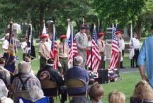 Bloomingdale, Illinois / Cemetery Memorial for Veterans in Bloomingdale, IL