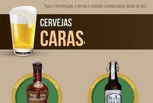 Cervejas e outras bebidas quentes