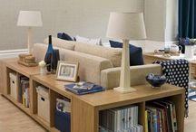 Zona libros sofa