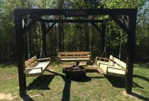 the swing sets