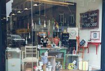 Love Restored Retail Window Displays