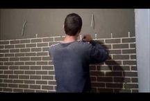 tehly na stenu