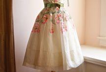 handpainted dresses