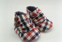 sapatinhos tecido
